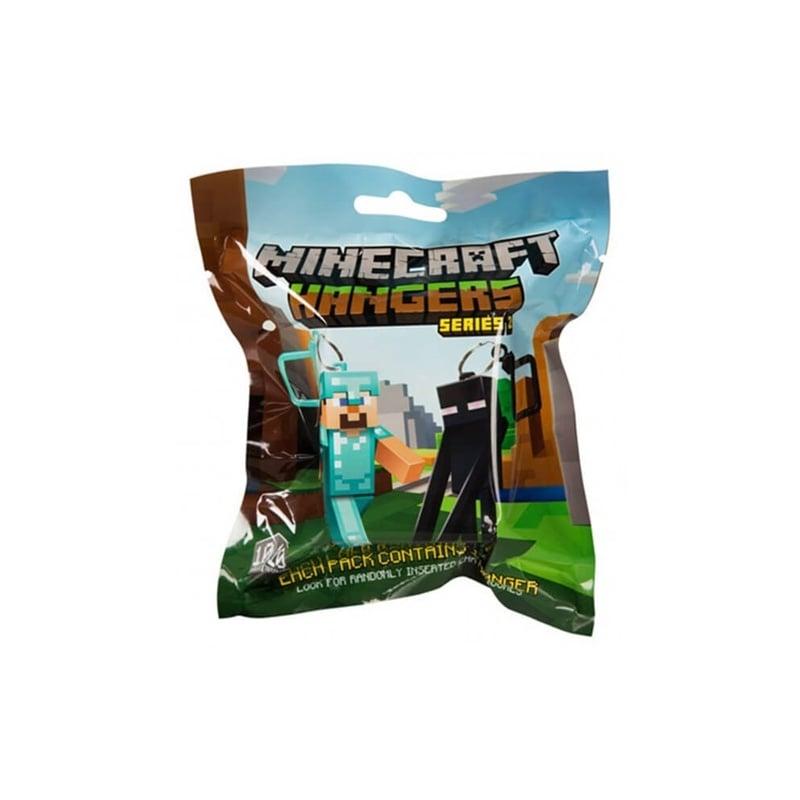 Σακουλάκι Με Μπρελόκ Minecraft Series 2 - 1 Τμχ. (CD0KR500)