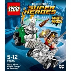 LEGO Super Heroes Mighty Micros: Wonder Woman™ vs. Doomsday(76070)