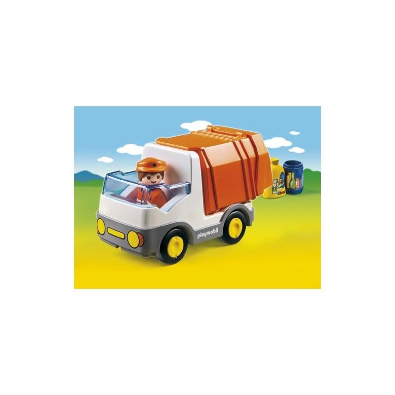 Playmobil 1.2.3 Απορριμματοφόρο όχημα(6774)