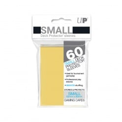Ultra Pro Small Sleeves Yellow 62x89 (60 Sleeves) (82970)